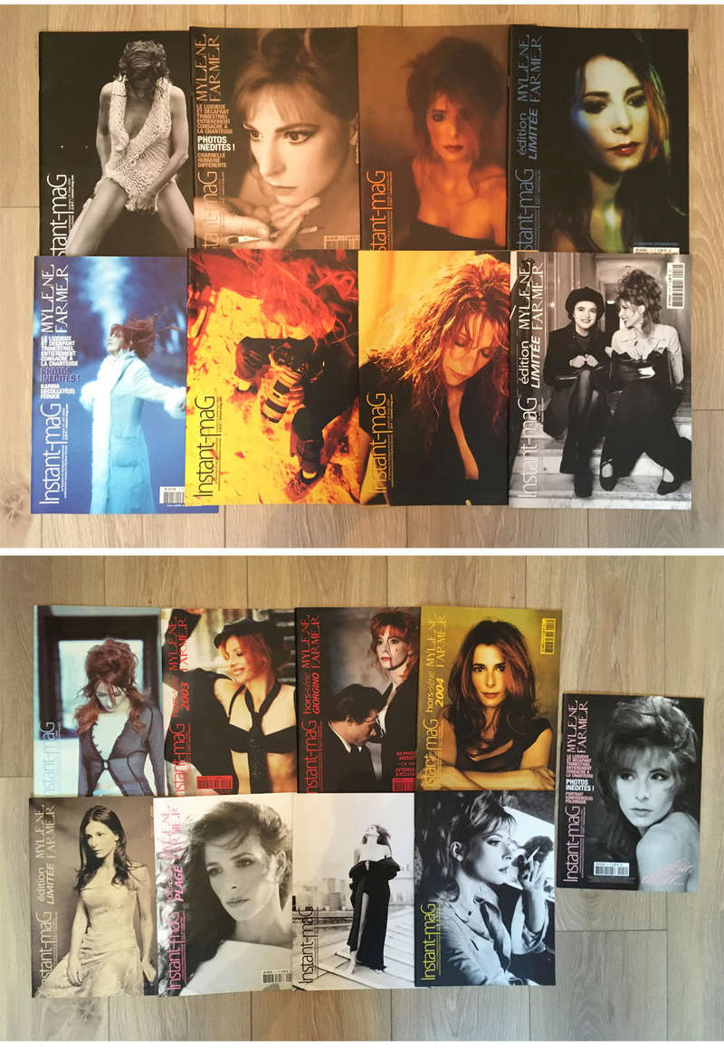 [VENDS] COLLECTION MYLENE FARMER - magazines, livres, calendriers, posters… 0510