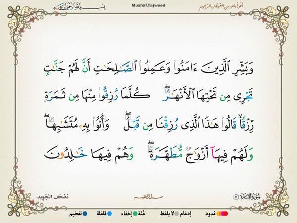 الآية 25 من سورة البقرة الكريمة المباركة Oa_25_12