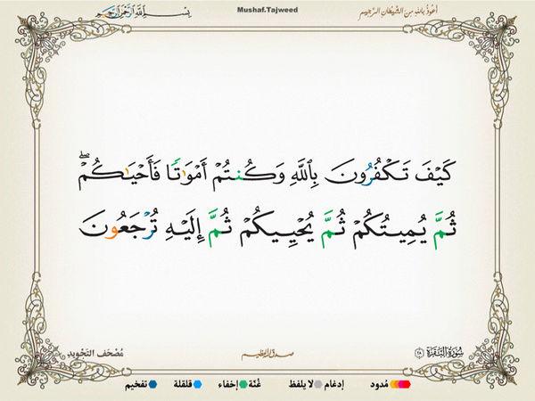 الآية 28 من سورة البقرة الكريمة المباركة Oa_28_10
