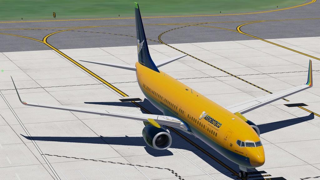 Textura Boeing 737-800 Default XPlane 1111