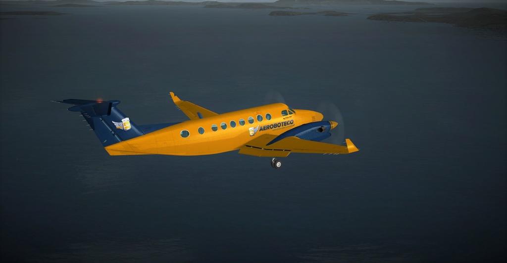 Textura King Air 350 Default FSX 1112