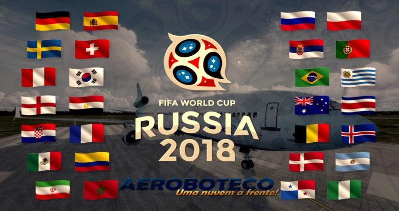 Alteração nas pernas 9 e 10 Tour Copa do Mundo 119