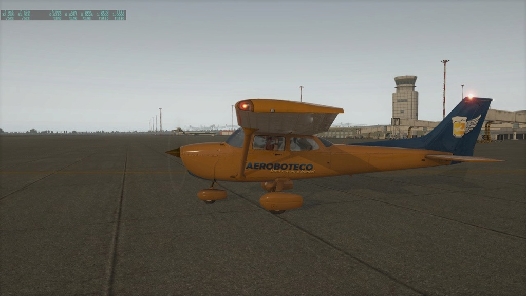 Textura C172 Default XPlane Banner16