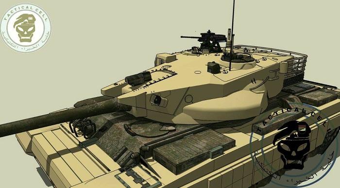 العراق يكشف لاول مرة عن مشروع الدبابة الوطنية( كفيل-1 )الصمم وسينفذ داخل العراق وبخبرات وطنيه 15171213