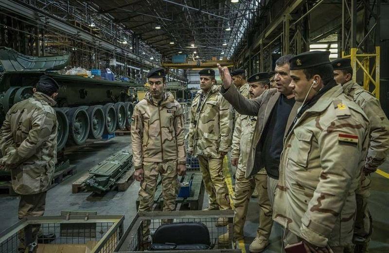 العراق يدخل في مفاوضات مع بولندا لتطوير اسطوله من دبابات T-72 25289510