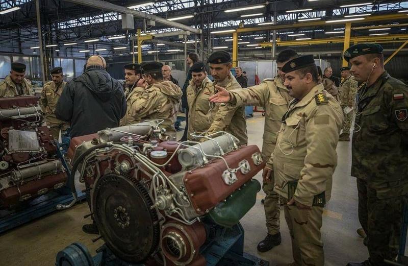 العراق يدخل في مفاوضات مع بولندا لتطوير اسطوله من دبابات T-72 27973710