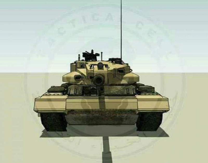 العراق يكشف لاول مرة عن مشروع الدبابة الوطنية( كفيل-1 )الصمم وسينفذ داخل العراق وبخبرات وطنيه A1a51410