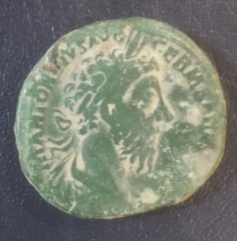 Sestercio de Marco Aurelio. VOTA PVBLICA IMP VIIII COS III P P /S C 20171218