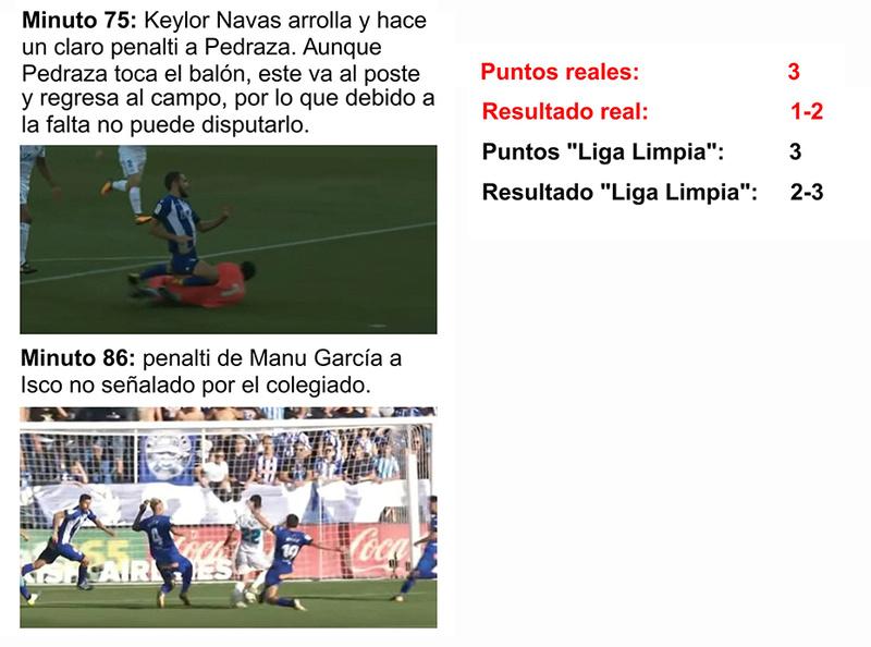LA LIGA LIMPIA 2017/2018 Alavys11