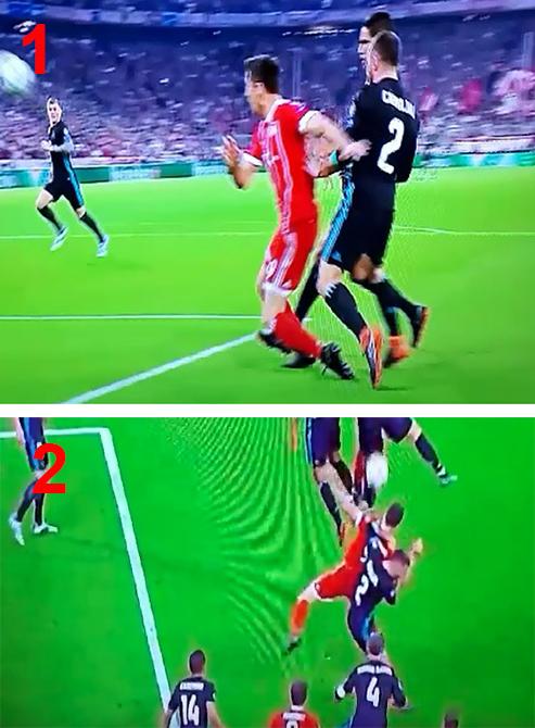 PARTIDOS POLÉMICOS 2017/2018 Bayern10
