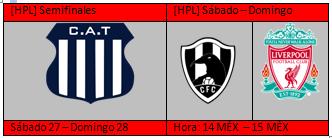 [HPL] Horarios de Semifinales + partido aplazado Semis11