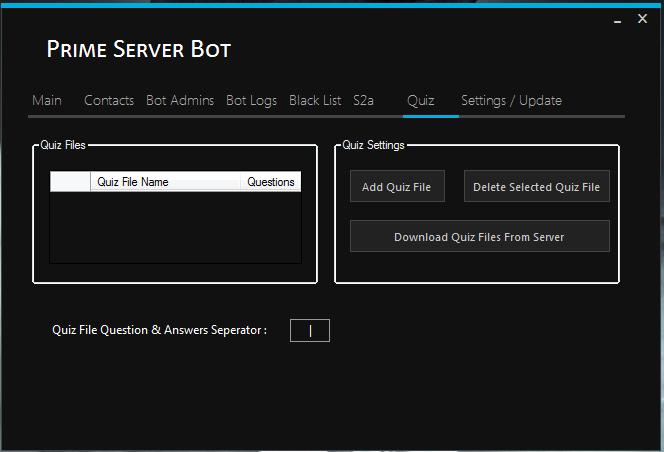 Prime Server Bot ! Prime410
