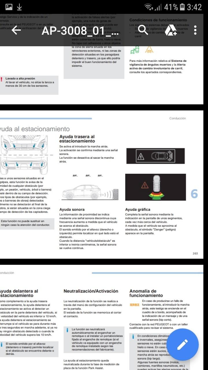 Sensores de aparcamiento delanteros - Página 2 Screen17