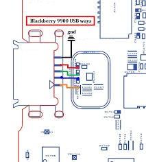 Pistas de carga y Usb Blackberry 9900 Pistas15