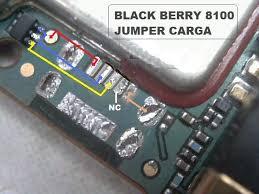 Pistas de carga y Usb Blackberry 8100 Pistas16