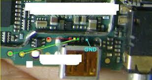 Pistas de carga y Usb Blackberry 8300 Pistas17