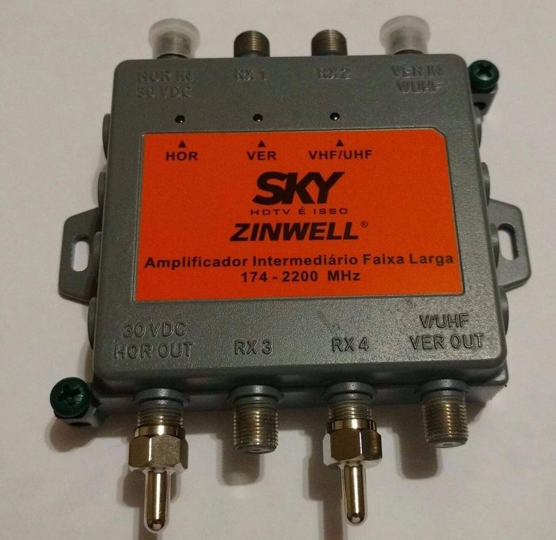 procurando - Problemas com: Procurando sinal sat in 1 Amplif11