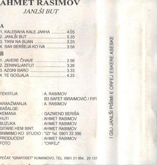 Ahmet Rasimov - Diskografija 09-24-27