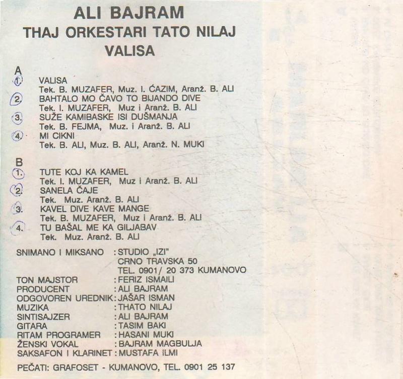 Ali Bajram - Omoti 10719310