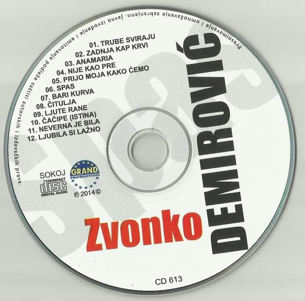Zvonko Demirovic - Omoti 15_cd12