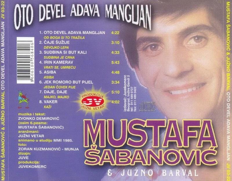 Mustafa Šabanović - Omoti 1985-610