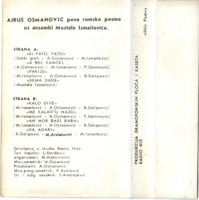 Ajrus Osmanovic - Omoti 1985do13