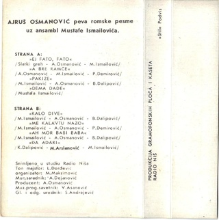 Ajrus Osmanovic - Diskografija 1985do14