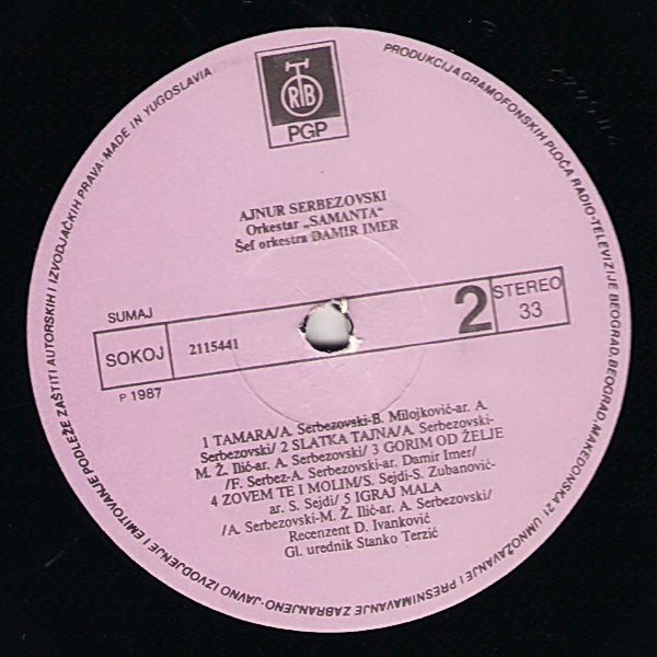 Ajnur Serbezovski - Omoti 1987-510