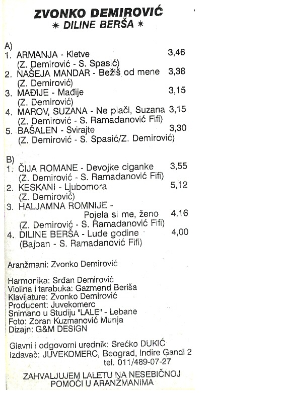 Zvonko Demirovic - Omoti 1995_z11