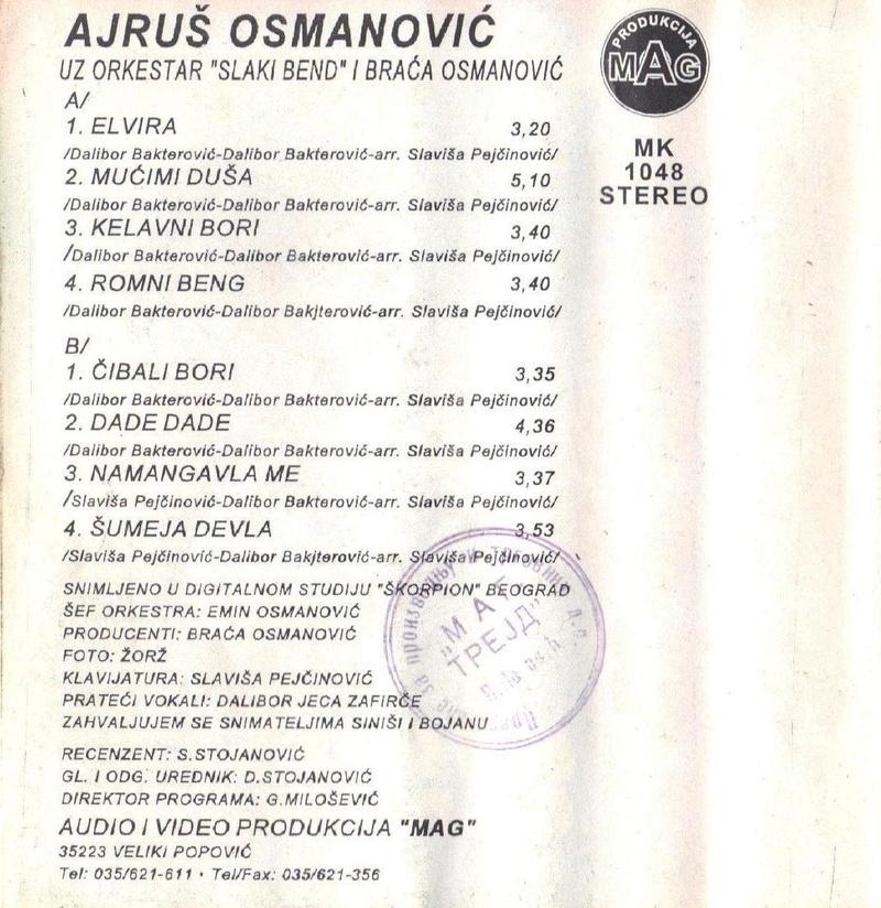 Ajrus Osmanovic - Omoti 1997_z10