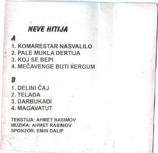 Ahmet Rasimov - Diskografija Ar110