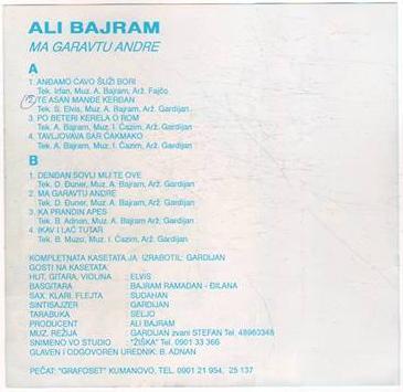 Ali Bajram - Omoti B10
