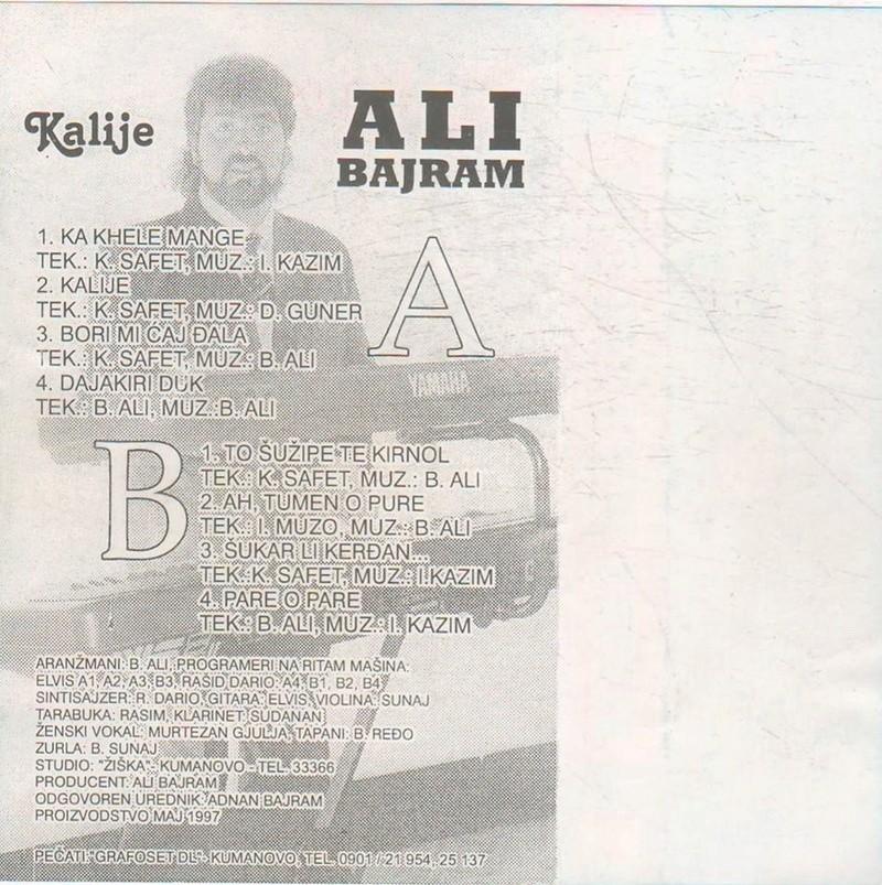 Ali Bajram - Omoti B11