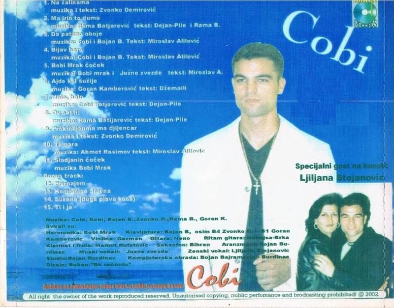 Slobodan Batijarevic - Cobi - Omoti Cd-zad11