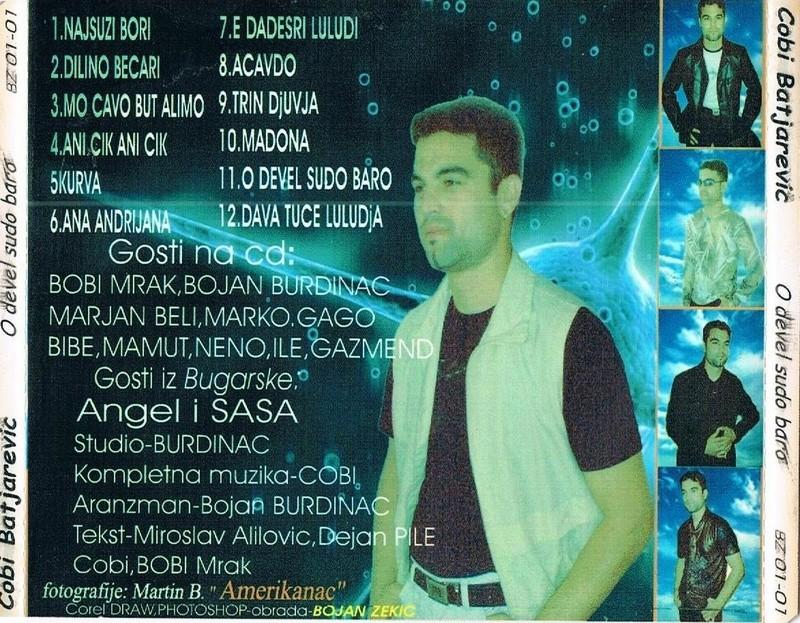 Slobodan Batijarevic - Cobi - Omoti Cd-zad12
