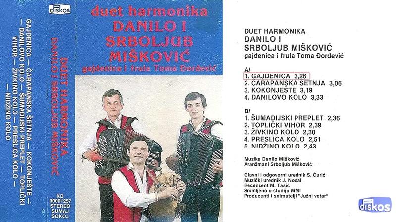 Produkcija Diskos - Omoti Kd-30070