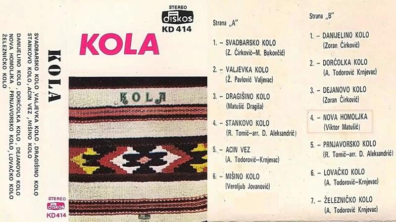 Produkcija Diskos - Omoti Kd-41410