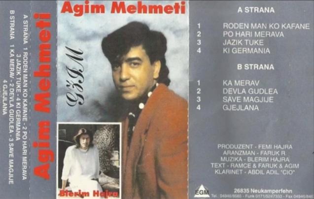 Razni Pevaci,Orkestri Iz Makedonije i Sa Kosova - Omoti Memeti10