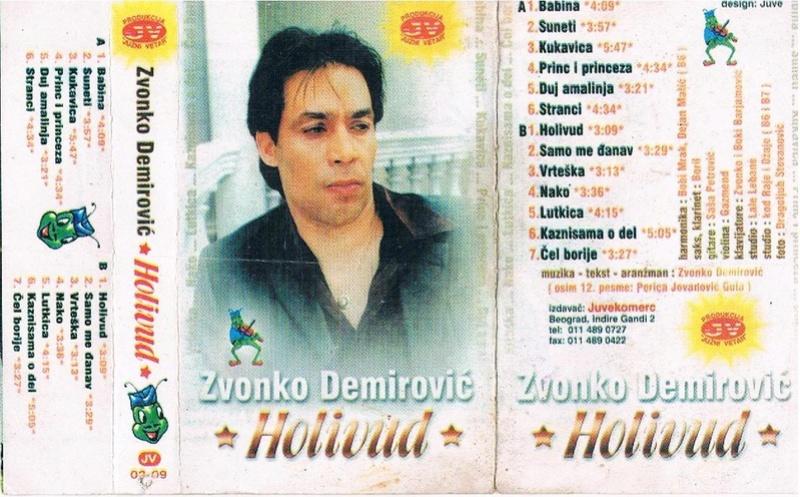 Zvonko Demirovic - Omoti Prednj22