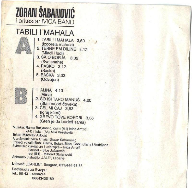Zoran Šabanović - Omoti Prednj23