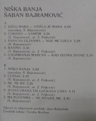 Šaban Bajramovič - Diskografija 3 100 % Tacna  - Page 2 R-116010