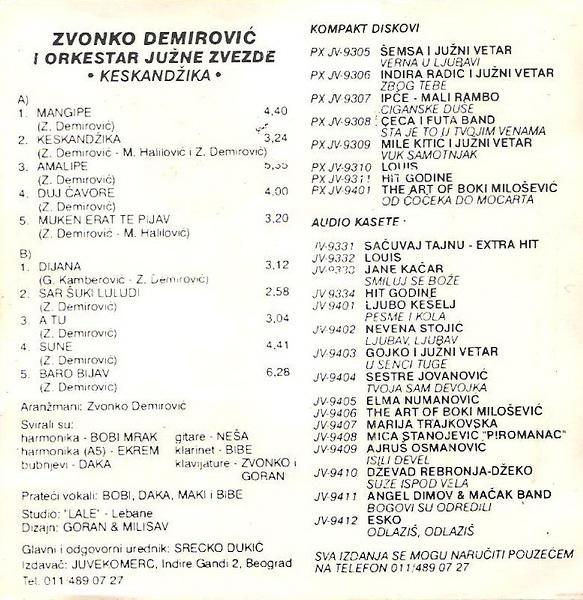Zvonko Demirovic - Omoti R-331712