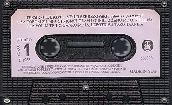 Ajnur Serbezovski - Omoti R-364311