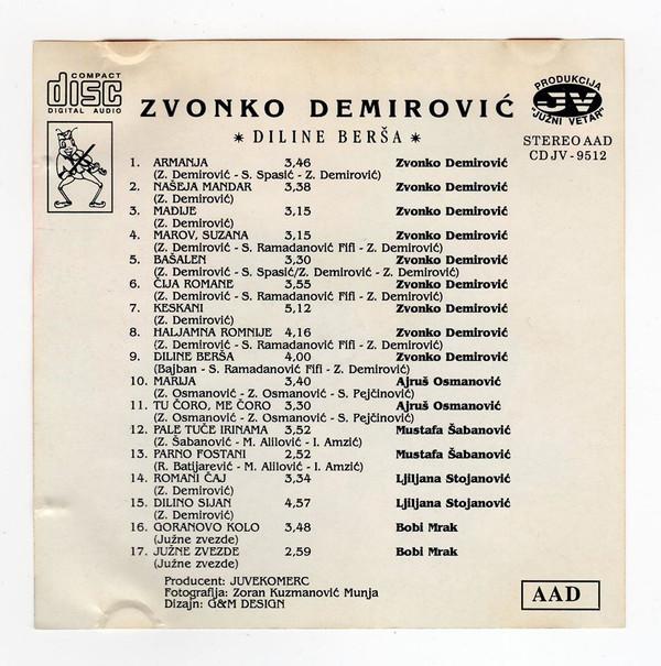 Zvonko Demirovic - Omoti R-417612