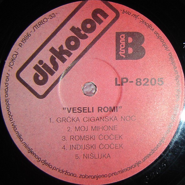 Veseli Romi - Omoti R-421613