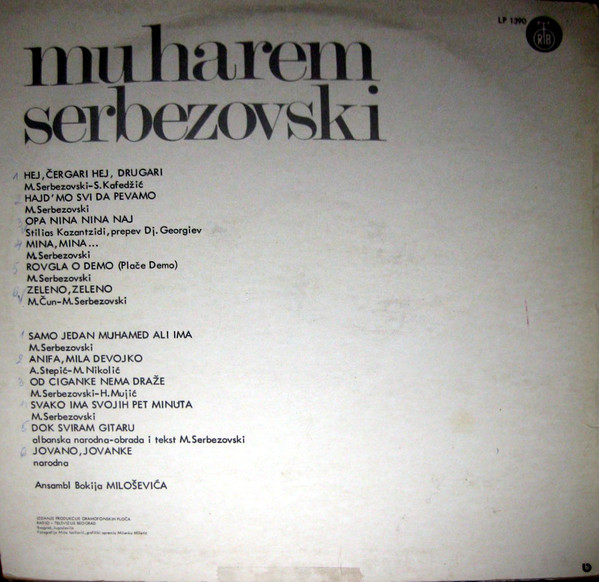 Muharem Serbezovski - Omoti R-552311