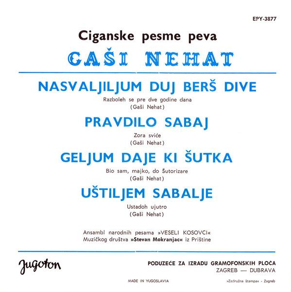 Gaši Nehat - Omoti R-951010