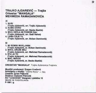Tahir Ajdarevic Trajko - Diskografija Trajko16