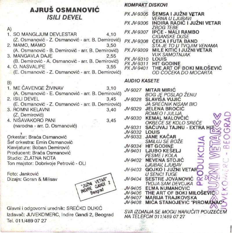 Ajrus Osmanovic - Omoti Zadnja15