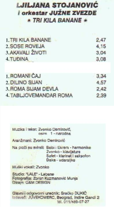 Ljiljana Stojanović - Omoti Zadnja29